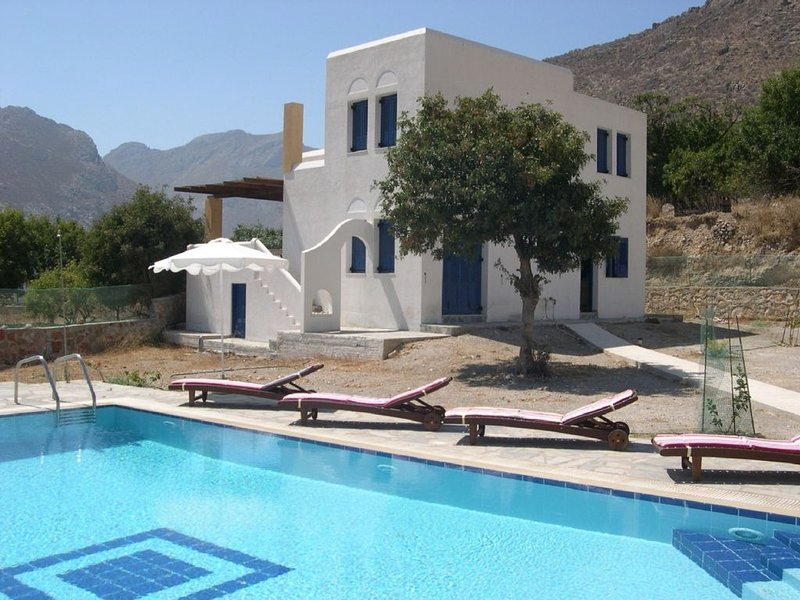 Remaining availability for summer. 27th June-16th July inclusive (20 nights)., casa vacanza a Tilos