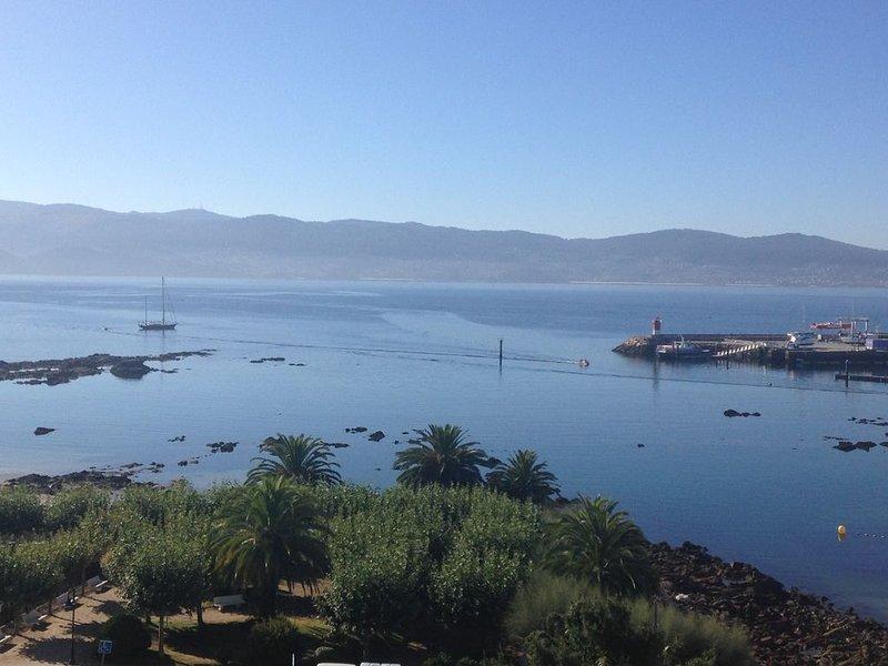 Atico en el centro de Sanxenxo, 3 hab y dos baños, con vistas al mar, alquiler de vacaciones en Sear