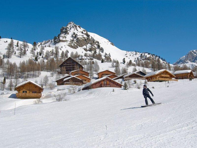 Joli Chalet Privé spacieux et abordable avec vue montagne, à 100m des pistes !, holiday rental in Demonte