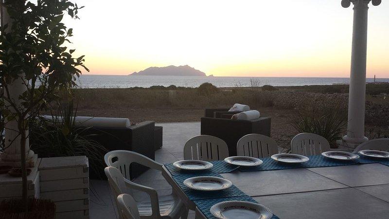 Villa vista mare e  Marettimo, vacation rental in Marettimo