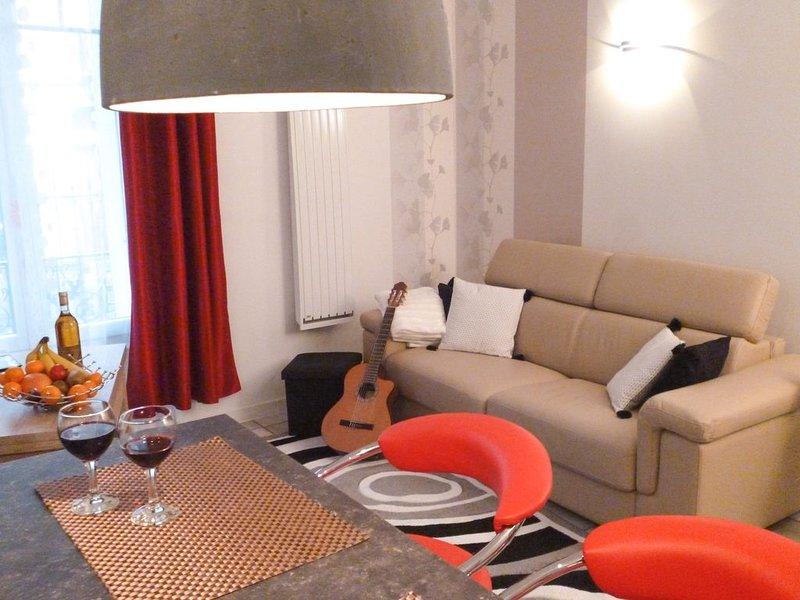 Appartement grand standing d'un bel immeuble du centre de Vichy, location de vacances à Bellerive-sur-Allier