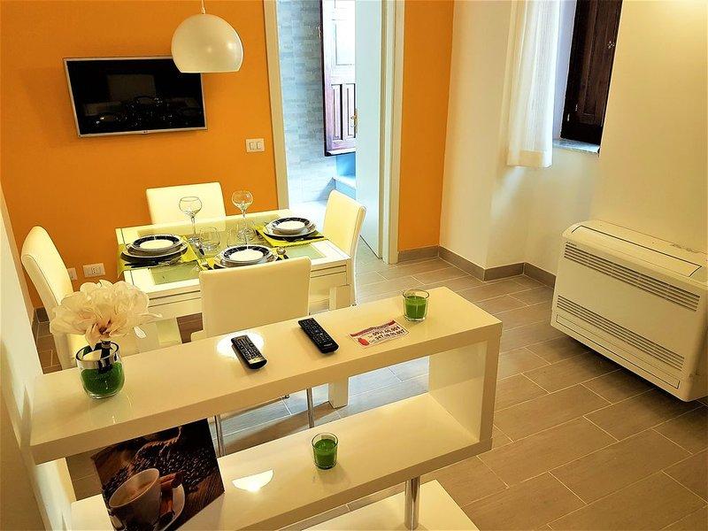 Moderno Appartamento nel Cuore di Ortigia a pochi metri dal Mare, Ferienwohnung in Isola di Ortigia