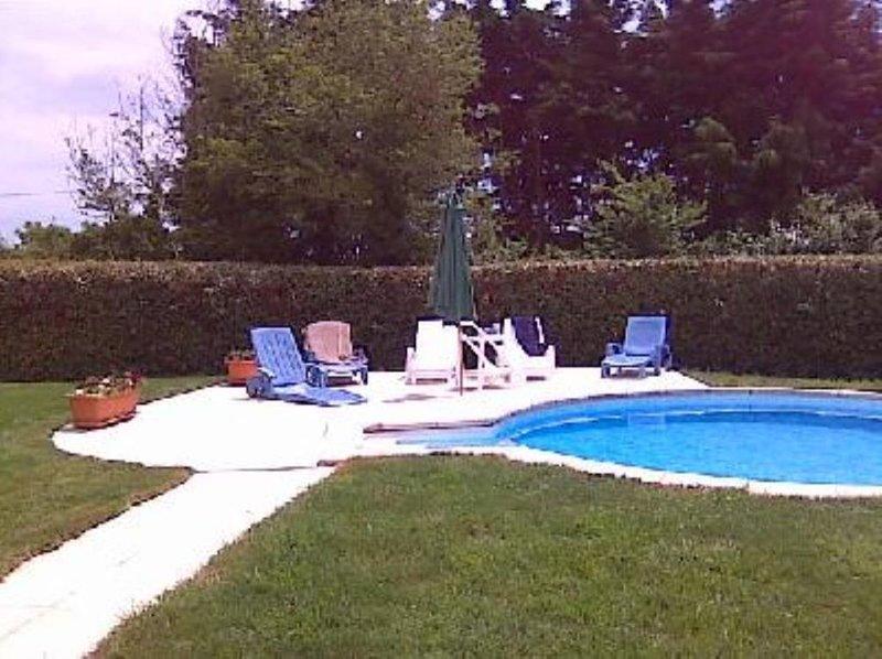 HAVRE DE PAIX, PISCINE PRIVEE, GRAND JARDIN CLOS, PROCHE PLAGE SURVEILLEE, location de vacances à Penmarch