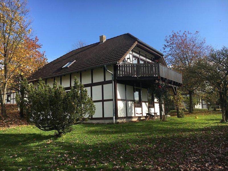 Luxe appartement met schitterend uitzicht, in natuurgebied, location de vacances à Frankenberg