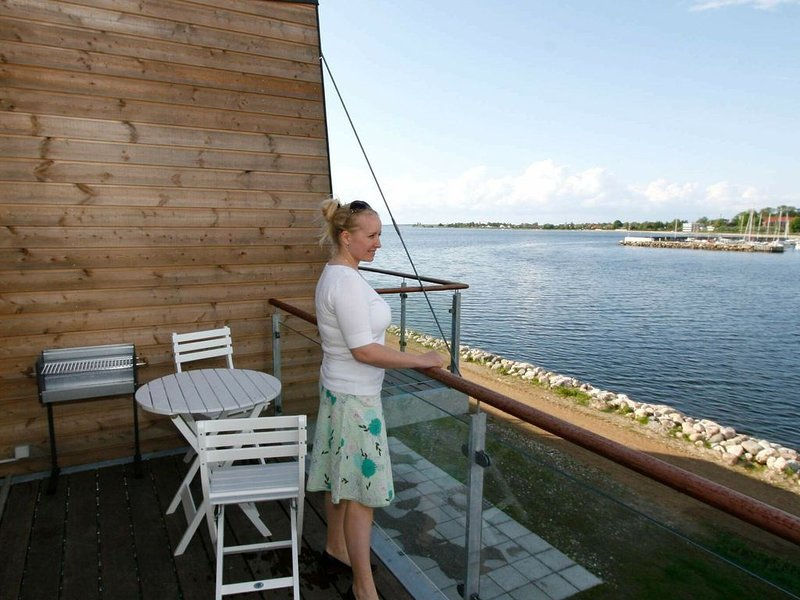 Spacious Holiday Home in Stege  with Terrace, holiday rental in Rødvig