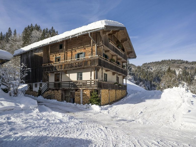 Modern Farmhouse in Hopfgarten im Brixental near Ski Area, holiday rental in Kelchsau
