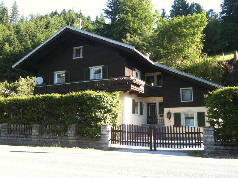 Chalet in Leogang , Apartment Mitterhorn (D) Studio Apartment, alquiler de vacaciones en Sankt Martin bei Lofer