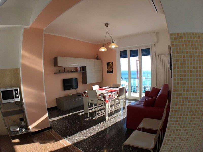 Arcobaleno Apartament ad Albissola Marina (SV) a 500 metri dal mare., vakantiewoning in Quiliano