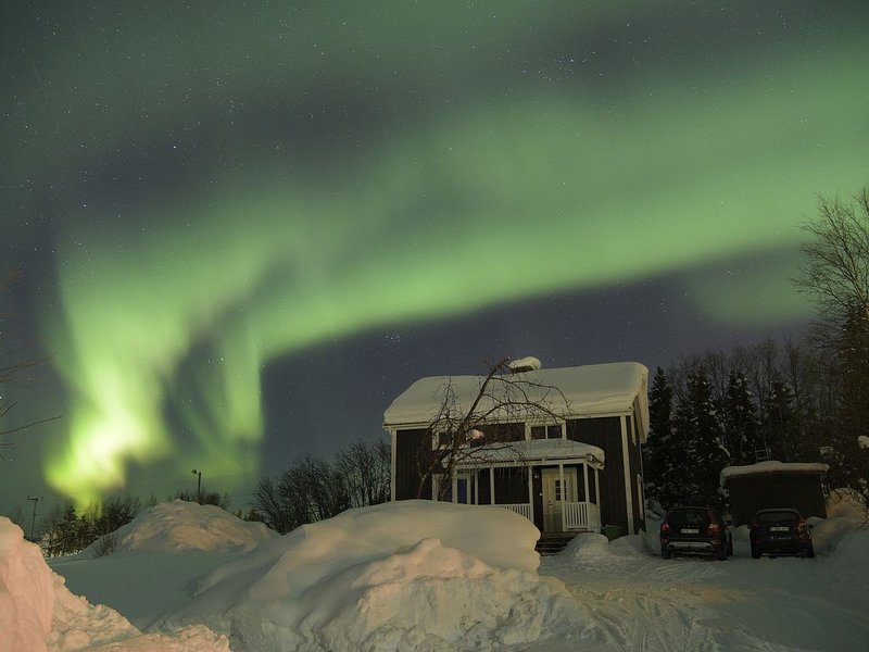 House in the heart of Lapland, vacation rental in Norrbotten County