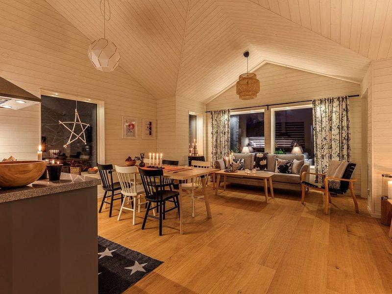 NYTT! Stor stuga med fjällutsikt, åk längdskidor och njut av naturen – semesterbostad i Jämtland and Härjedalen