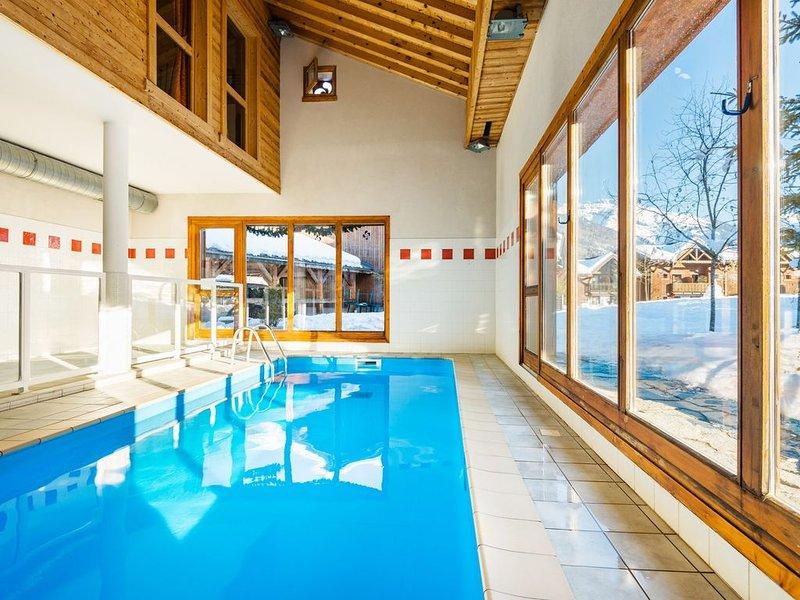 Chalet Savoyard au calme | Accès 2 Piscines + à 1km des remontées, location de vacances à Sixt-Fer-a-Cheval
