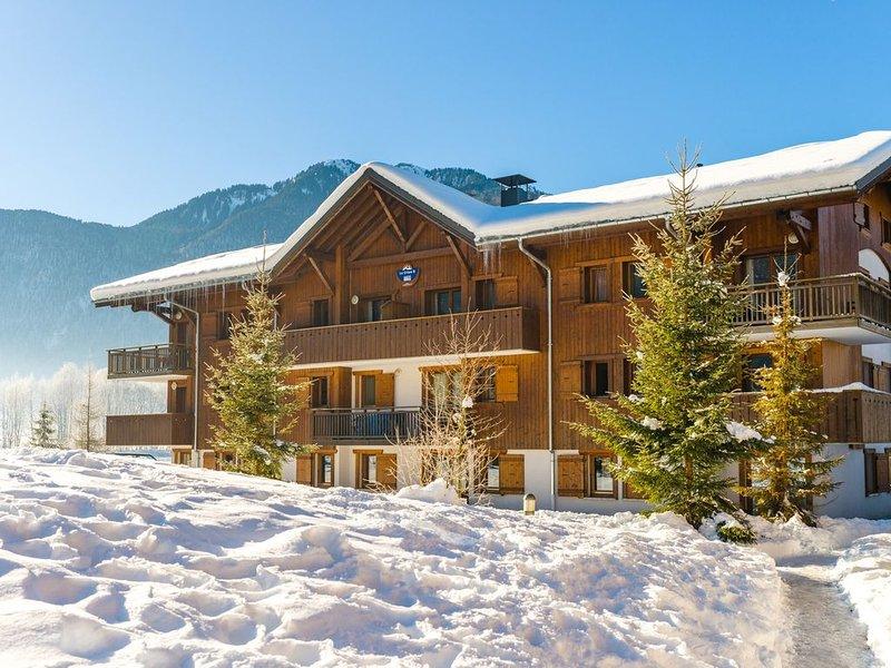Appartement charmant et au calme | Accès Piscine + Navette Gratuite aux pistes !, location de vacances à Sixt-Fer-a-Cheval