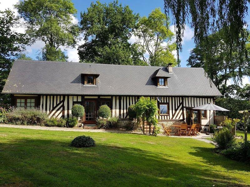 'Une maison comme on peut en rêver en Normandie !', location de vacances à Saint-Gatien-des-Bois