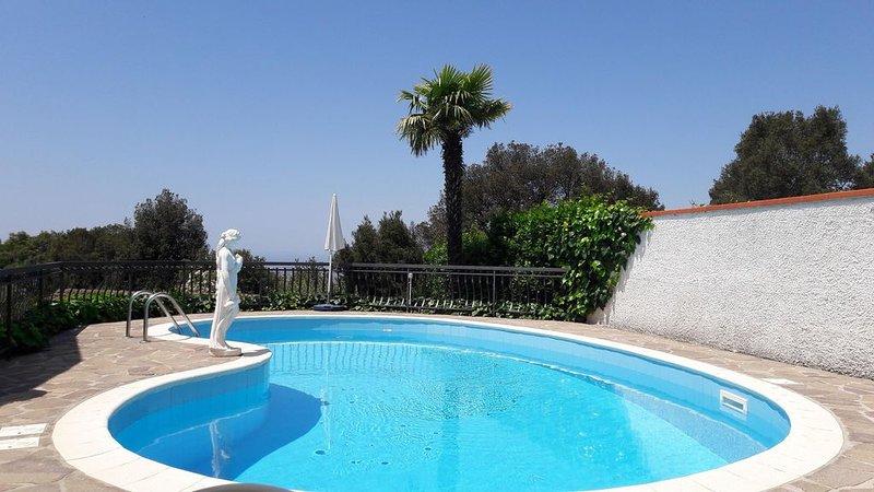 Casa singola con piscina privata, holiday rental in Bagno di Gavorrano