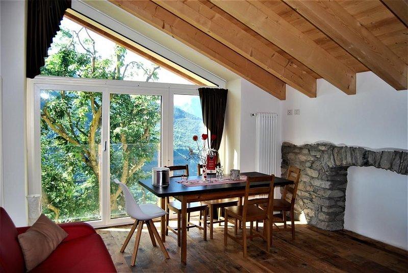 B&B Vecchiascuola di Pianazzola,  appartamenti e camere in affito in una scuola, vacation rental in Cresta