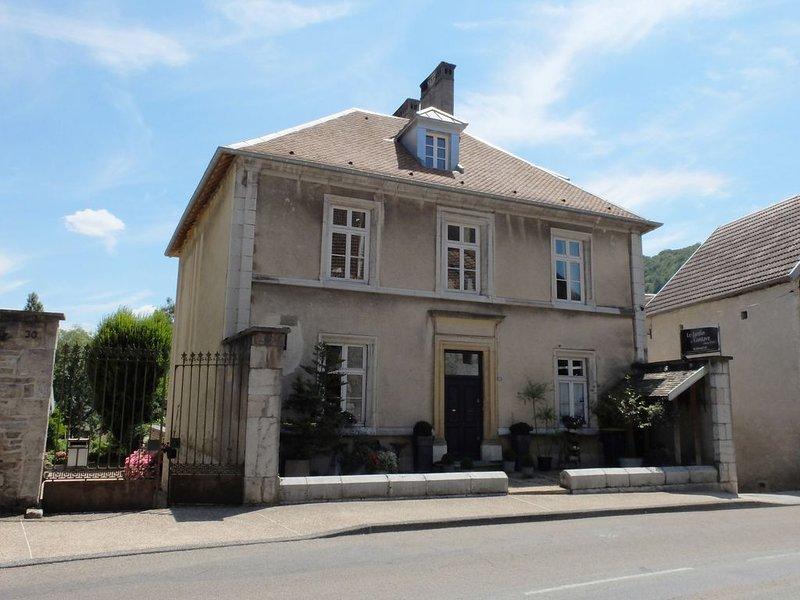 Appartement au Jardin de Gustave, holiday rental in Trepot