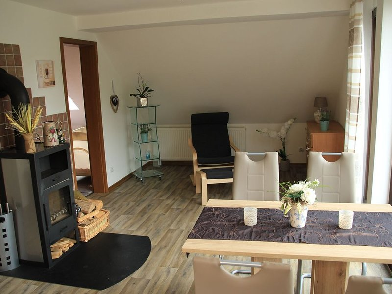 Apartment in Elpe with Balcony, Garden Furniture, Heating, aluguéis de temporada em Westernboedefeld