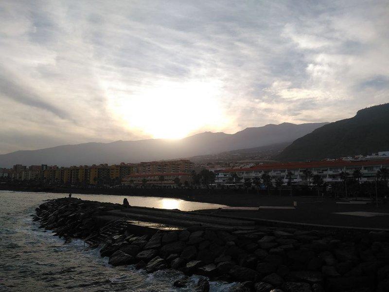 Solnedgång i Candelaria