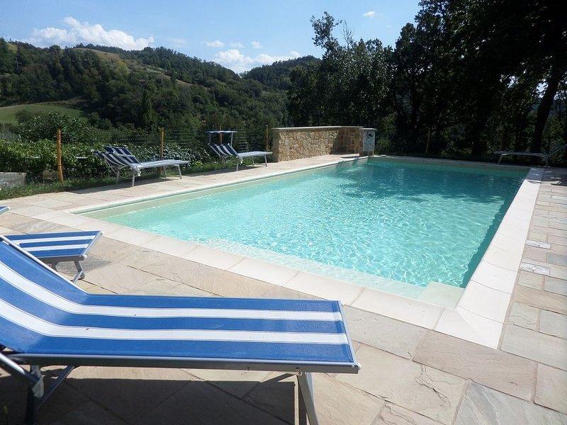 Pool looking south