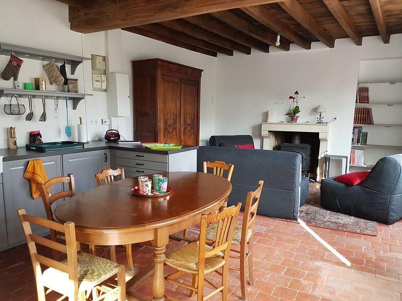 Maison de charme Bourgogne - campagne, tourisme, jardin et sauna, location de vacances à Sainte-Magnance