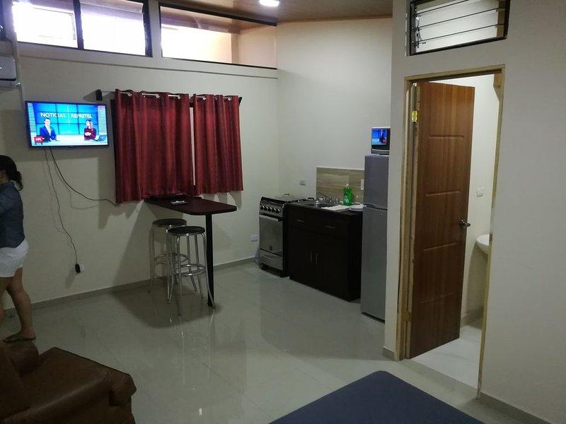 Bonito apartamento a 5 minutos aeropuerto Juan santamaría. Zona segura., casa vacanza a Sabanilla