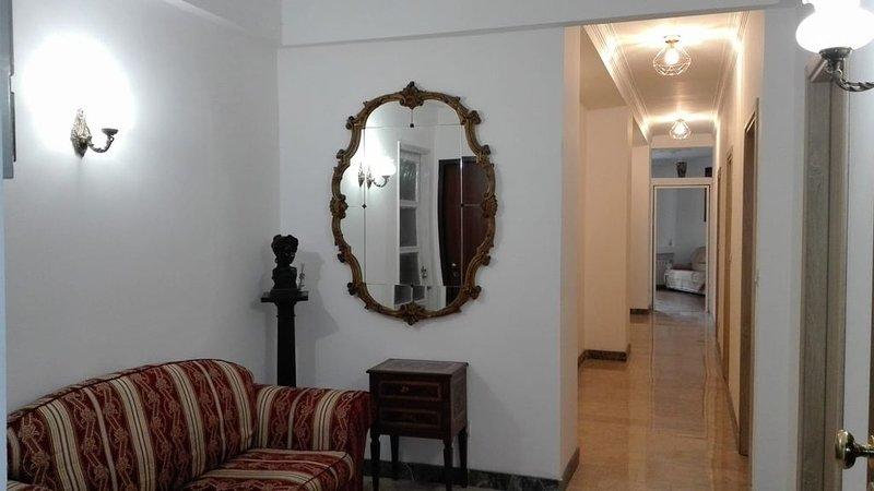 Camera con camino a 5 minuti dalla stazione di Porta Susa, holiday rental in Villar Pellice
