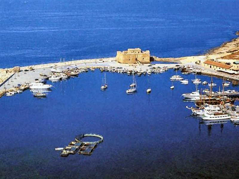 Paphos harbour and Castle a must see!