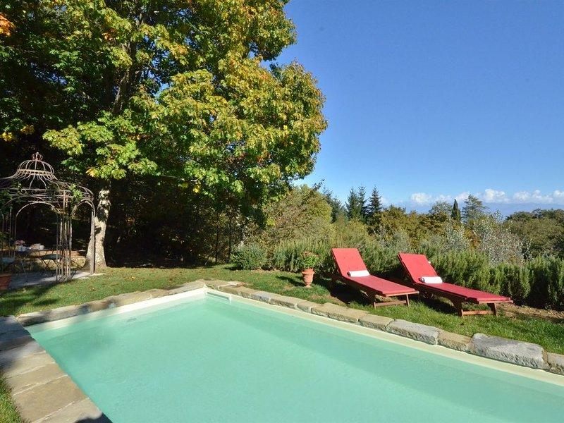Il Paretaio, Montevarchi, Arezzo and Cortona, vacation rental in Nusenna