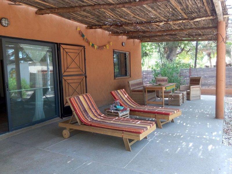 Un pequeño paraíso en Palmarin, location de vacances à Fimela