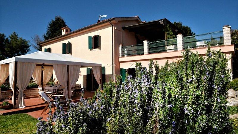 Big villa with swimming-pool & Wifi, vakantiewoning in Direttissima del Conero