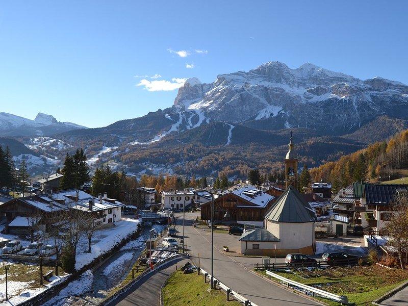 Appartamento con vista mozzafiato sulle Dolomiti di Cortina d'Ampezzo, alquiler de vacaciones en Misurina