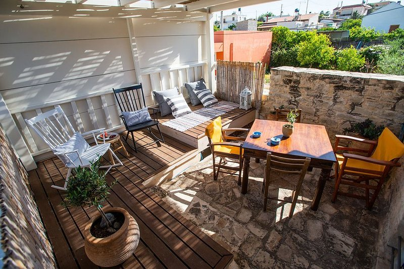 1936 Stone apartment Sivas Crete Chelidoni I (ΑΜΑ) ***********, Ferienwohnung in Mires