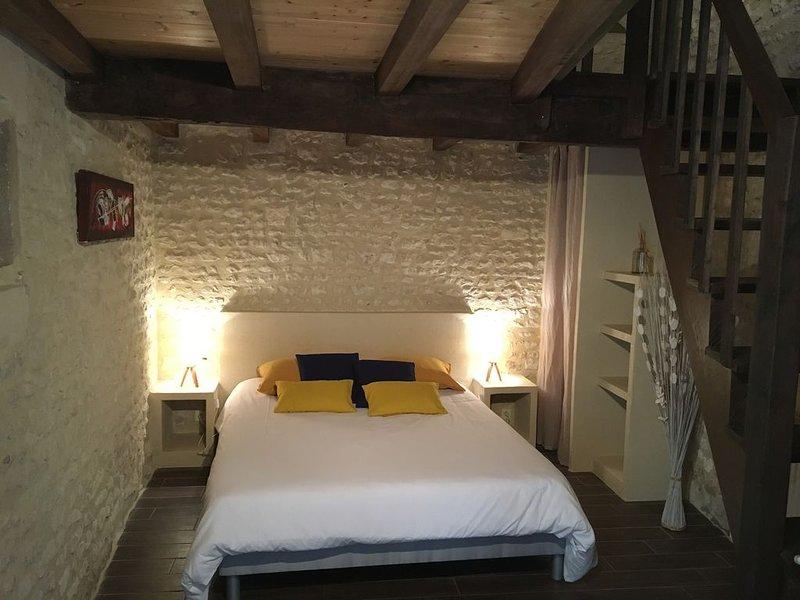 Grande champagne - Chambre d'hôte, holiday rental in Saint Seurin de Palenne