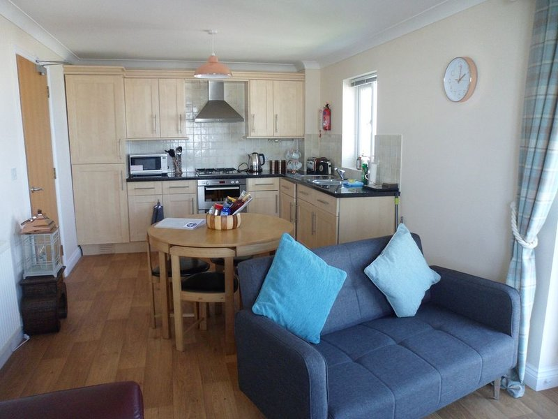 Luxury apartment with breathtaking seaviews of the world famous Fistral Beach, Ferienwohnung in Newquay