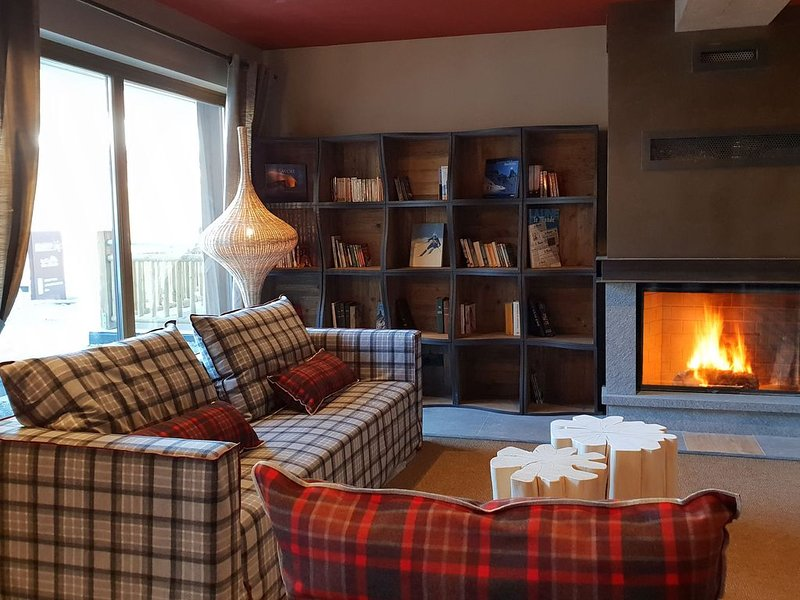 Valley-View Apartment near Ski Lift and Skiing Area, holiday rental in Beaufort