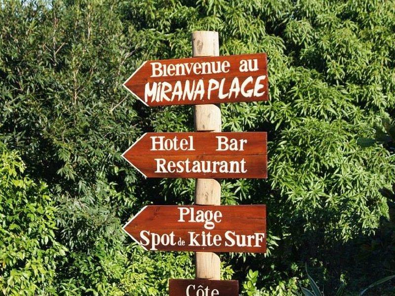 Mirana Plage BUNGALOW LE CITRONNELLE, holiday rental in Nosy Boraha