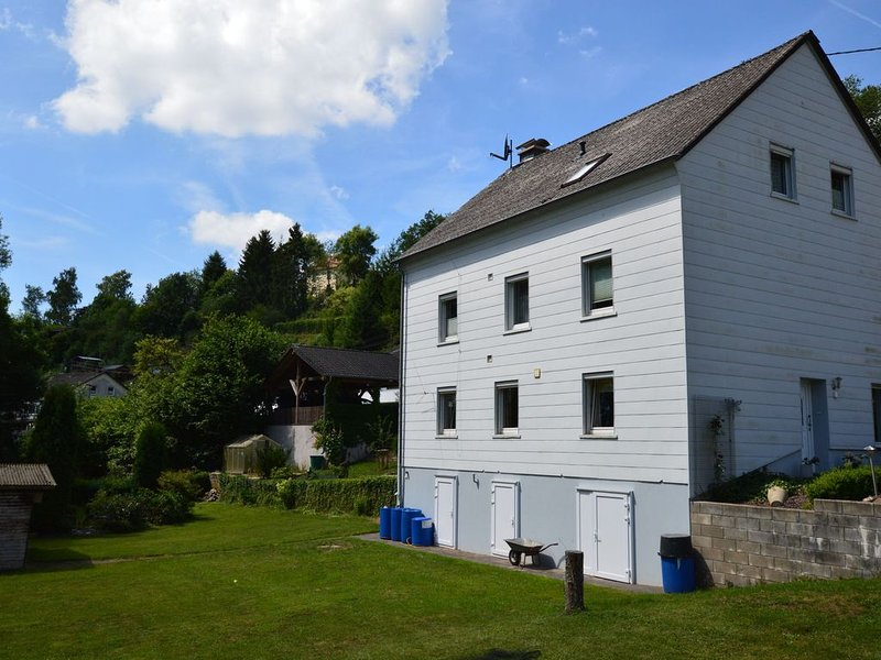 Apartment in Waxweiler with Sauna, Terrace, Garden, BBQ, holiday rental in Irrhausen