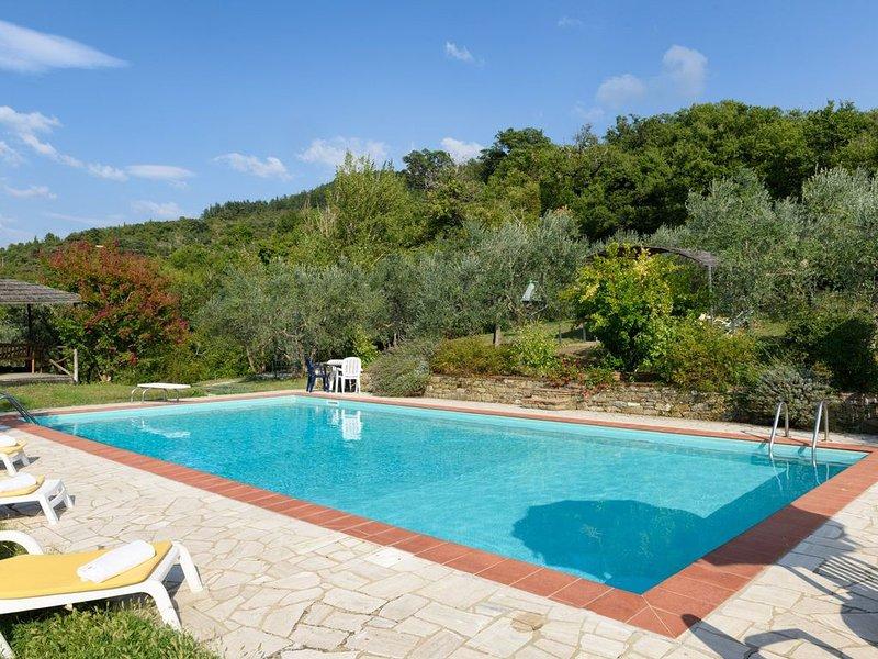 Short Cancellation Period:- Tuscany  cottage, Pool . lovely setting., location de vacances à Castiglion Fiorentino