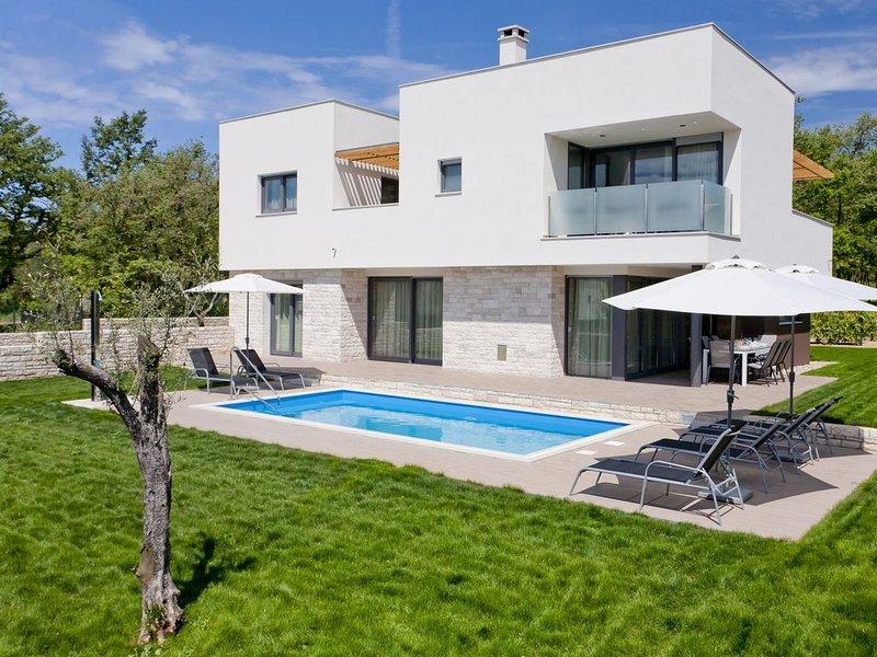 Luxurious Villa Novigrad with Swimming Pool, location de vacances à Fiorini