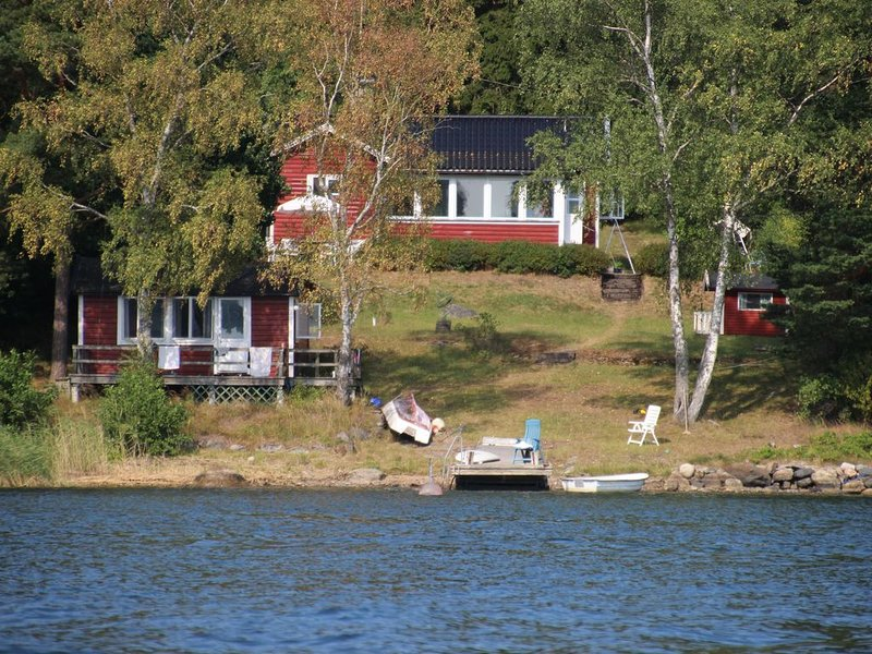 Maison de vacances au bord de l'eau