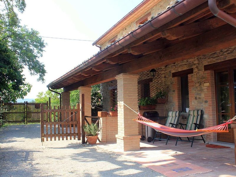 Apartment in Pennabilli with Garden, Garden Furniture, BBQ, holiday rental in Province of Rimini