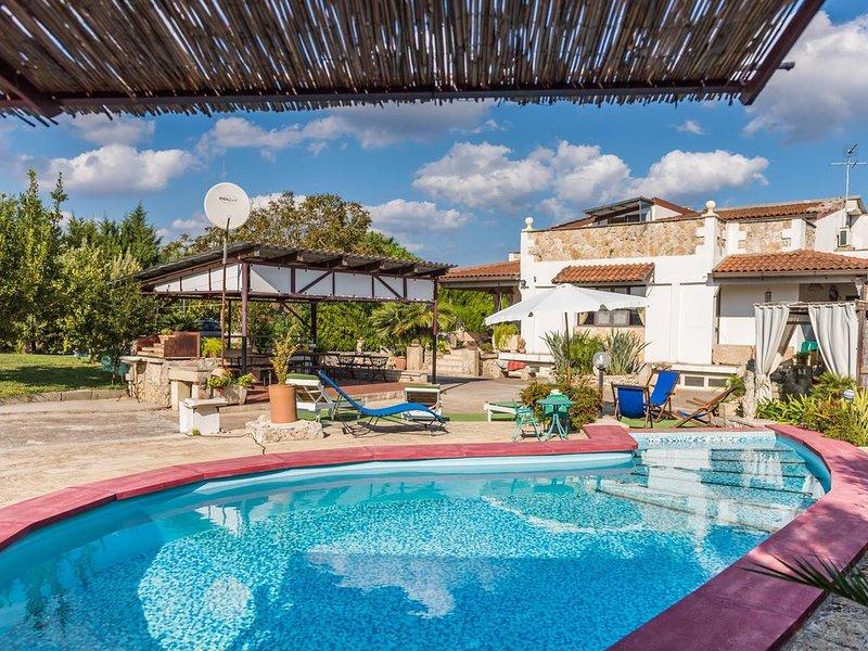 Villa Margherita-Carpignano, holiday rental in Serrano