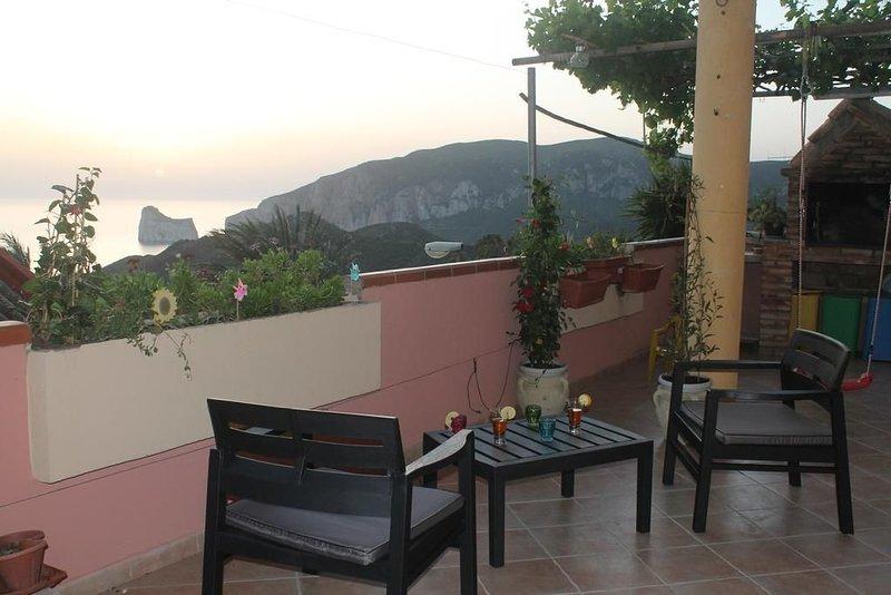 Vacanze a Nebida con  Vista sul Pan di Zucchero, vacation rental in Nebida