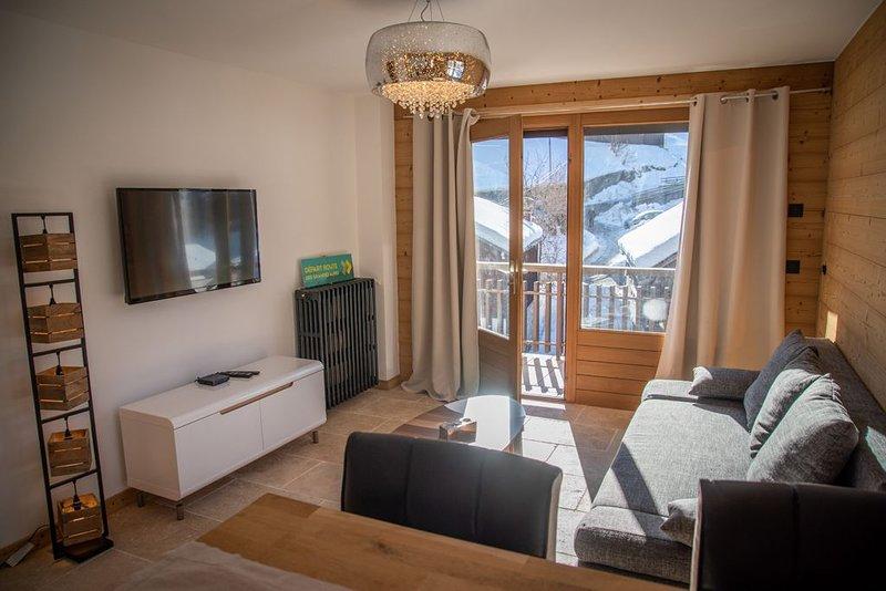 Magnifique appartement de montagne plein centre, vacation rental in La Clusaz