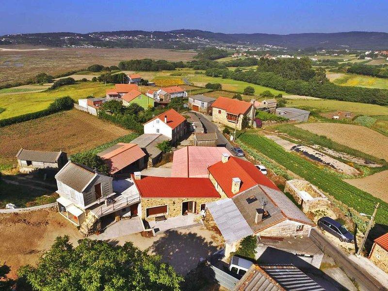 Acogedora casa rural As Marismas, location de vacances à Bertoa