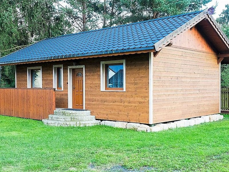 Modern Chalet in Ralsko Bohemian with Private Garden, holiday rental in Mimon