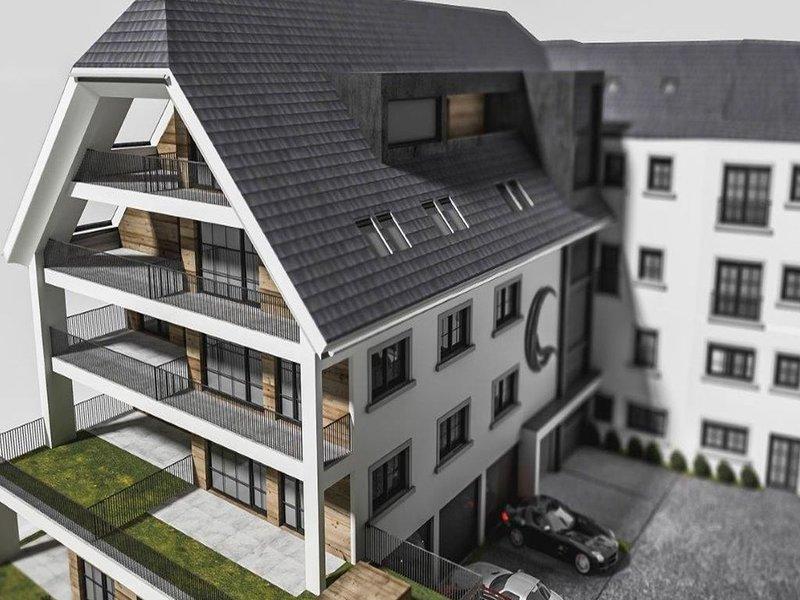 Modern apartment in the citycenter of Mariapfarr, alquiler de vacaciones en Mariapfarr