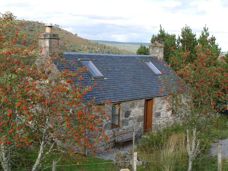 Traditional Crofters Cottage In Ideal Location For Trips N, S, E And West, casa vacanza a Lairg