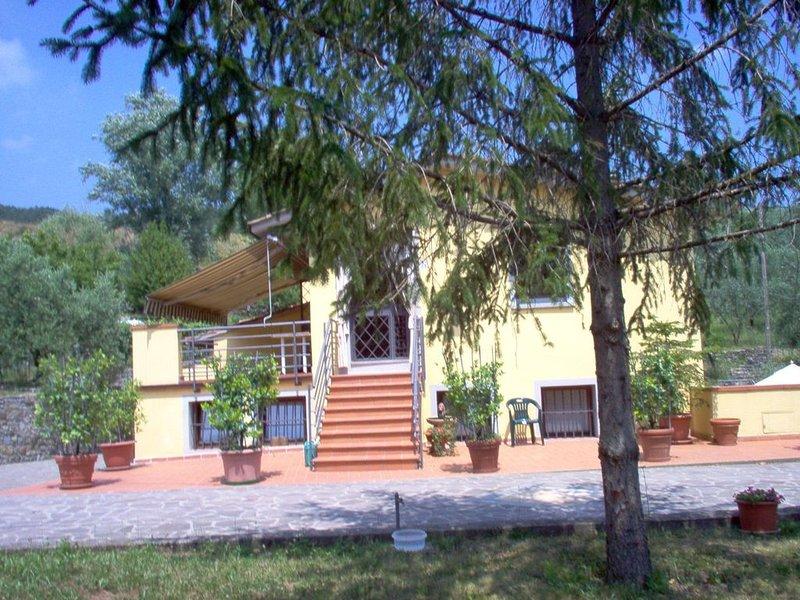 vacanza nel parco di Monteferrato, aluguéis de temporada em Vaiano