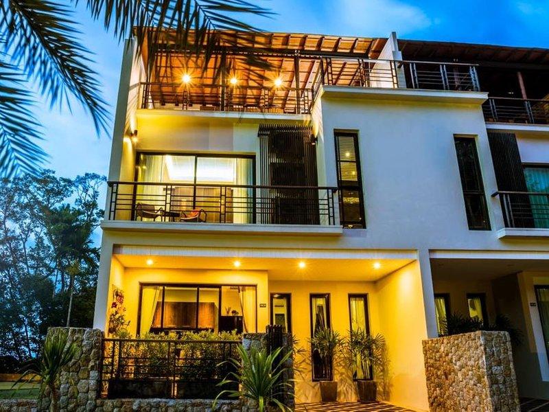 Kamala Nature, luxury three bedroom villa with private pool, Phuket Island, holiday rental in Kamala